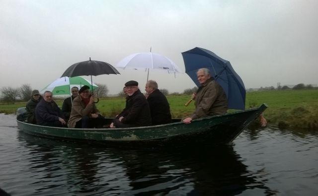 In de boot genomen
