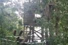 Vogelhut buiten gebruik